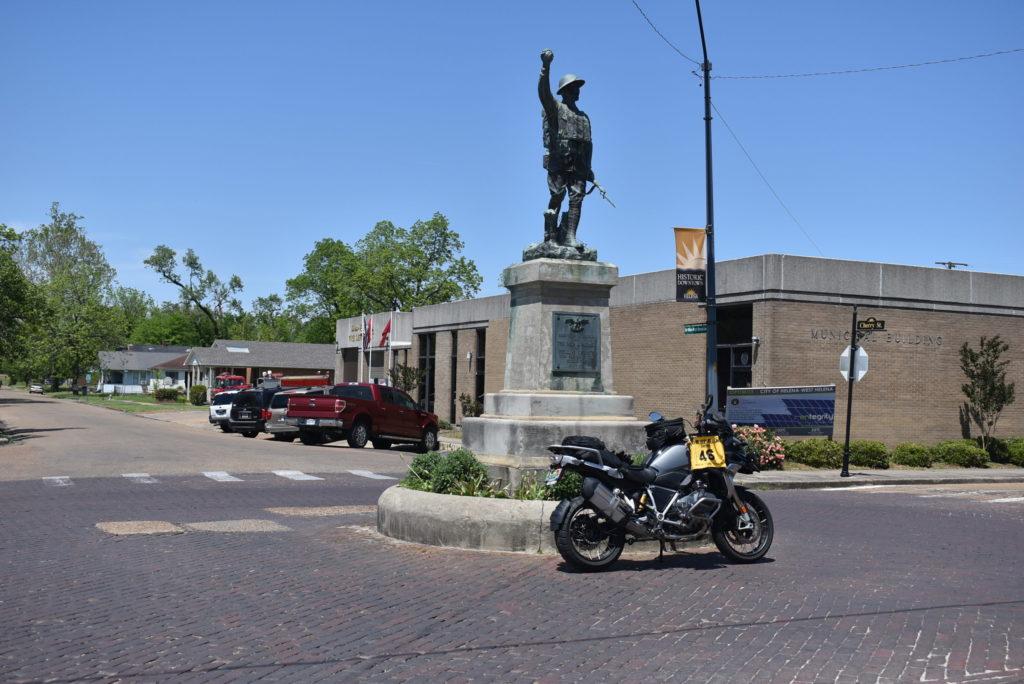 Doughboy in West Helena, AR
